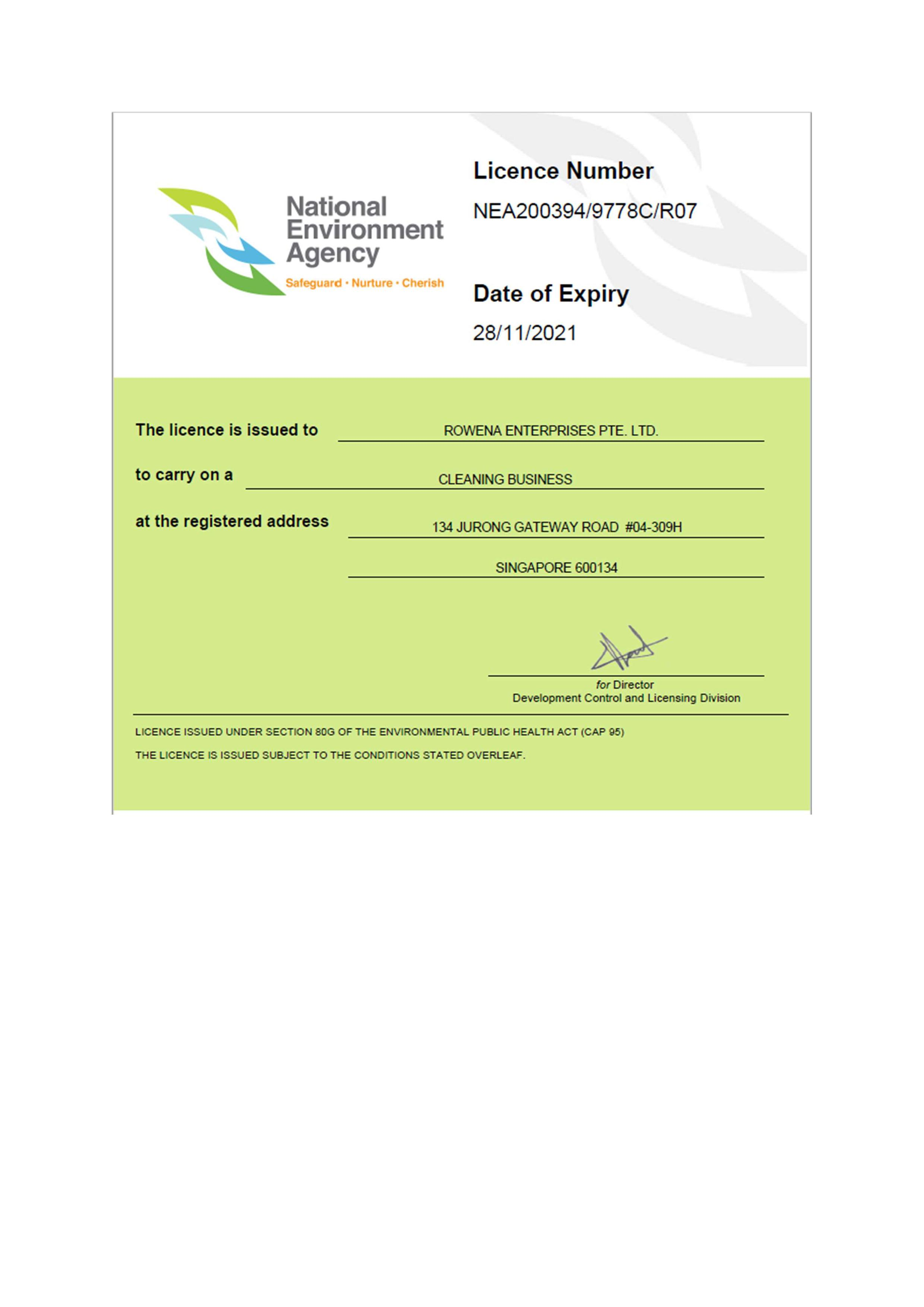National Environment Agency